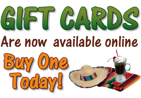 Gift Cards Mexican Food in El Cajon and San Diego
