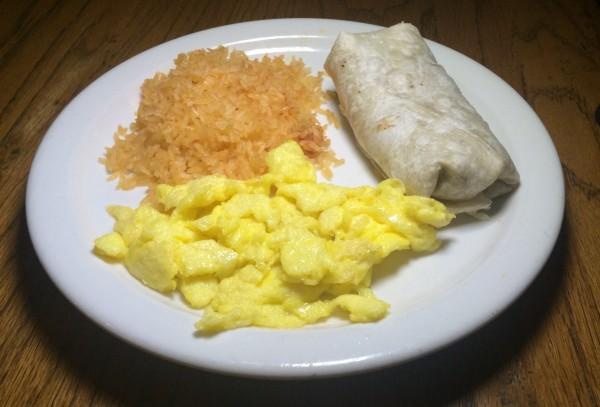Sunday Brunch - Kids Breakfast Burrito