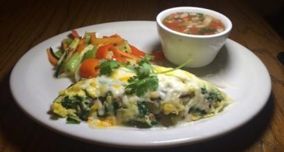Sunday Brunch - Vegetarian Omelet